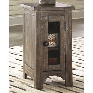 Affordable Theobald End Table with Storage by Gracie Oaks