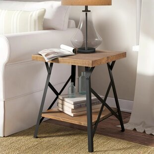 Affordable Boissonneault End Table By Loon Peak