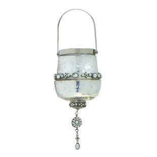 Bungalow Rose Dumbea Platinum Hanger Lantern
