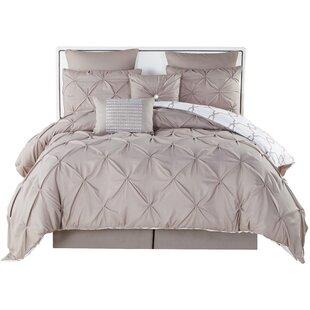 Willa Arlo Interiors Rigina 8 Piece Reversible Comforter Set