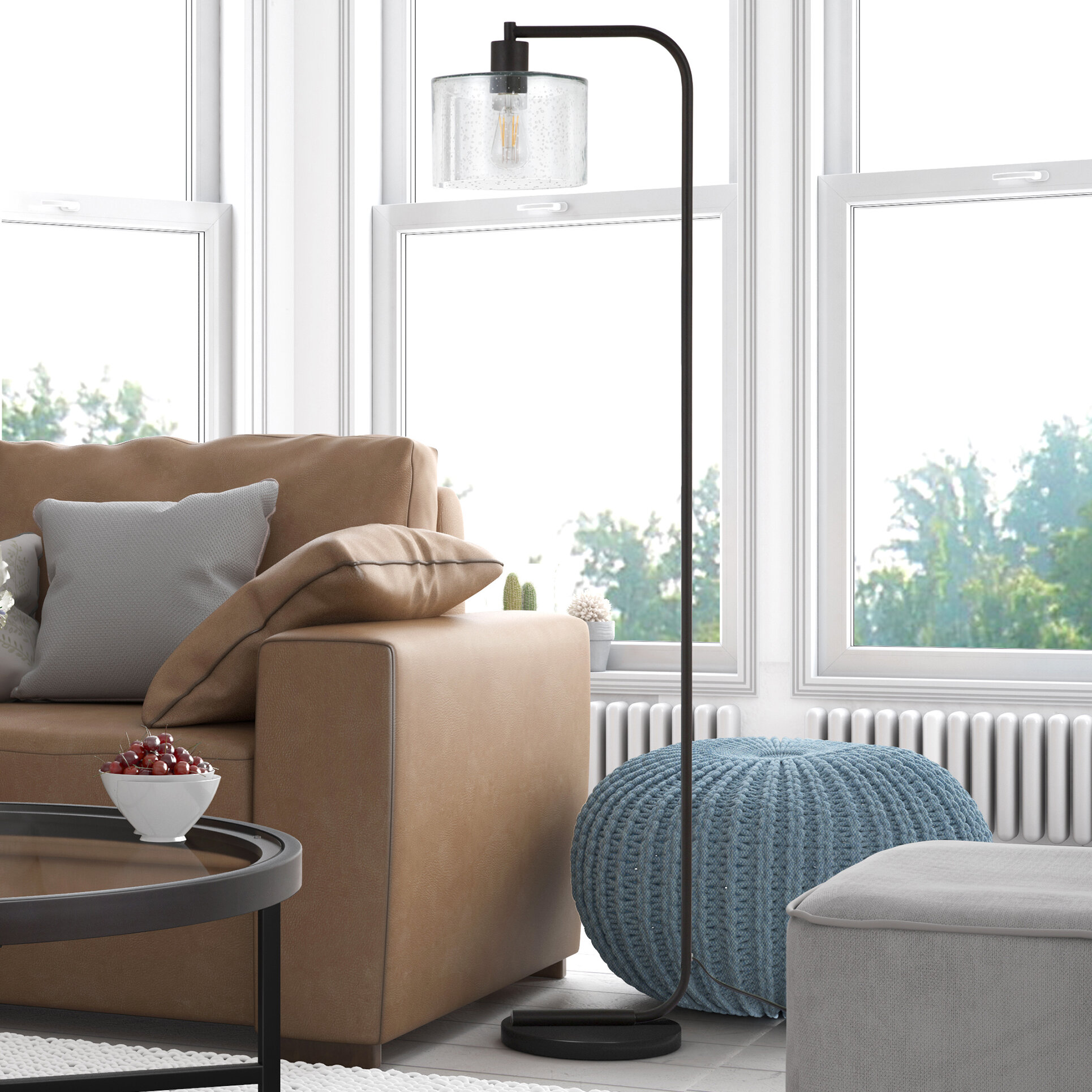 Remarkable Enrique 57 37 Arched Arc Floor Lamp Ibusinesslaw Wood Chair Design Ideas Ibusinesslaworg
