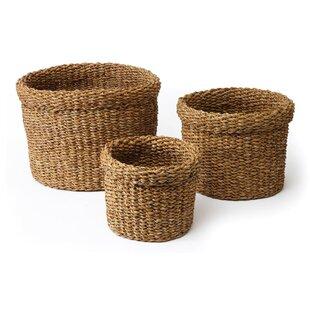 Best 3-Piece Pala Basket Set ByAugust Grove