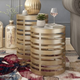 Riner 2 Piece End Table Set