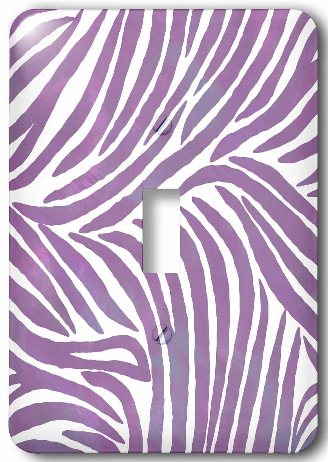 3drose Zebra 1 Gang Toggle Light Switch Wall Plate Wayfair