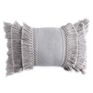 db6d3379bf Jacky Fringe Decorative Cotton Throw Pillow