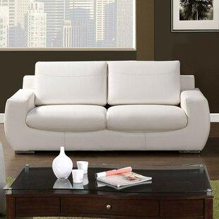 Brayden Studio Zariah Leather Sofa