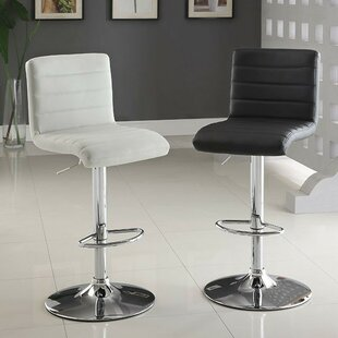 Tinley Adjustable Height Swivel Bar Stool