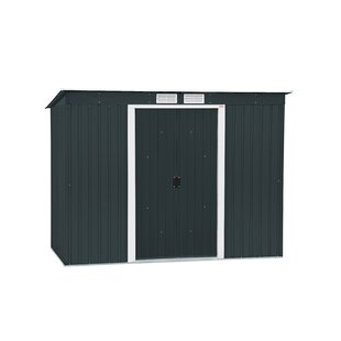 Duramax Building Products Pent 8 ft. W x 4 ft. D Metal Lean-To Storage Shed