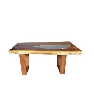 Loon Peak Parkerson Solid Wood Dining Table