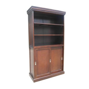 Muir Sliding 2 Door Standard Bookcase by DarHome Co Cool