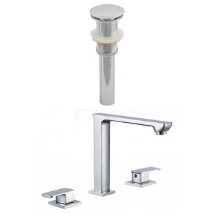 CUPC Widespread Bathroom Faucet with Drain Assembly by Royal Purple Bath Kitchen