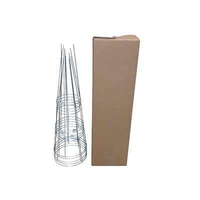 Plant Support Glamos Wire Size: 42 H x 14 W x 14 D, Color: Galvanized
