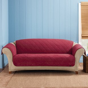 Shop Soft Suede Box Cushion Sofa Slipcover by Sure Fit