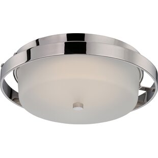 Best Choices Bakewell 1-Light Flush Mount By Orren Ellis