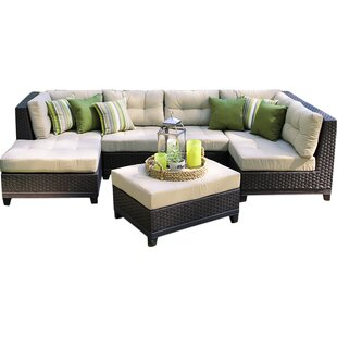 Madison Avenue Patio Sectional with Sunbrella Cushions