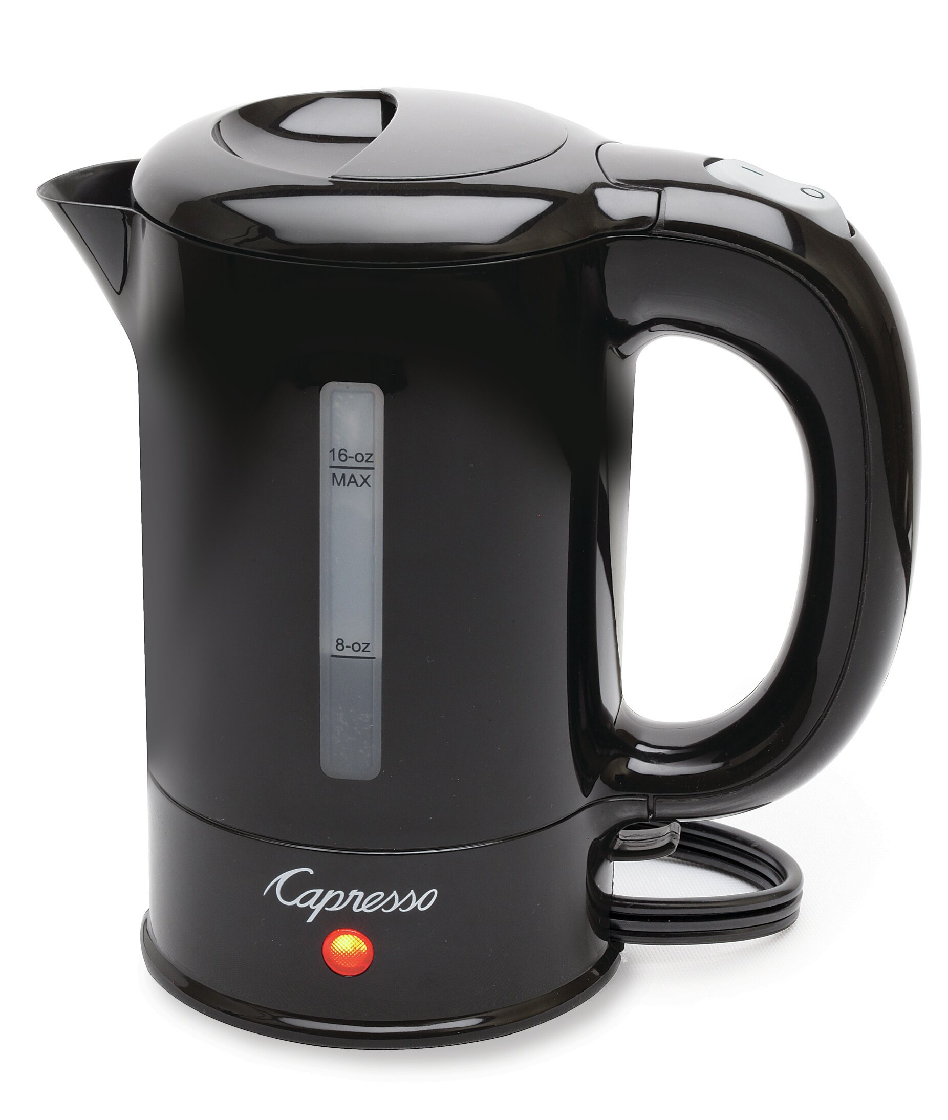 Electric Capresso H2O Stainless Steel Tea Kettle 56 Oz