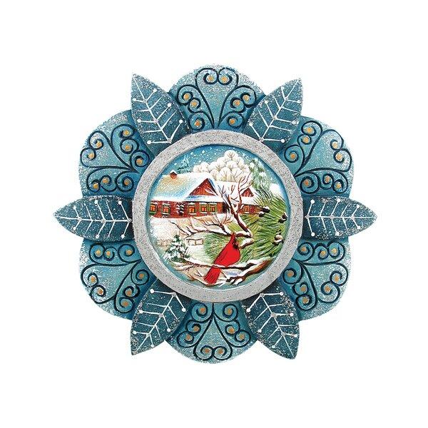 G Debrekht Cardinal Snowfall Ornament Derevo Collection Wayfair