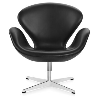 Orren Ellis Murphey Leather Armchair