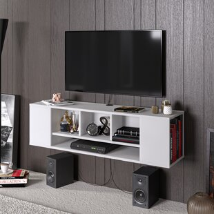 AbbieJames Floating TV Stand for TVs up to 70
