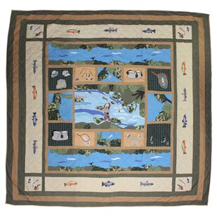 Patch Magic Fly Fishing Luxury Quilt