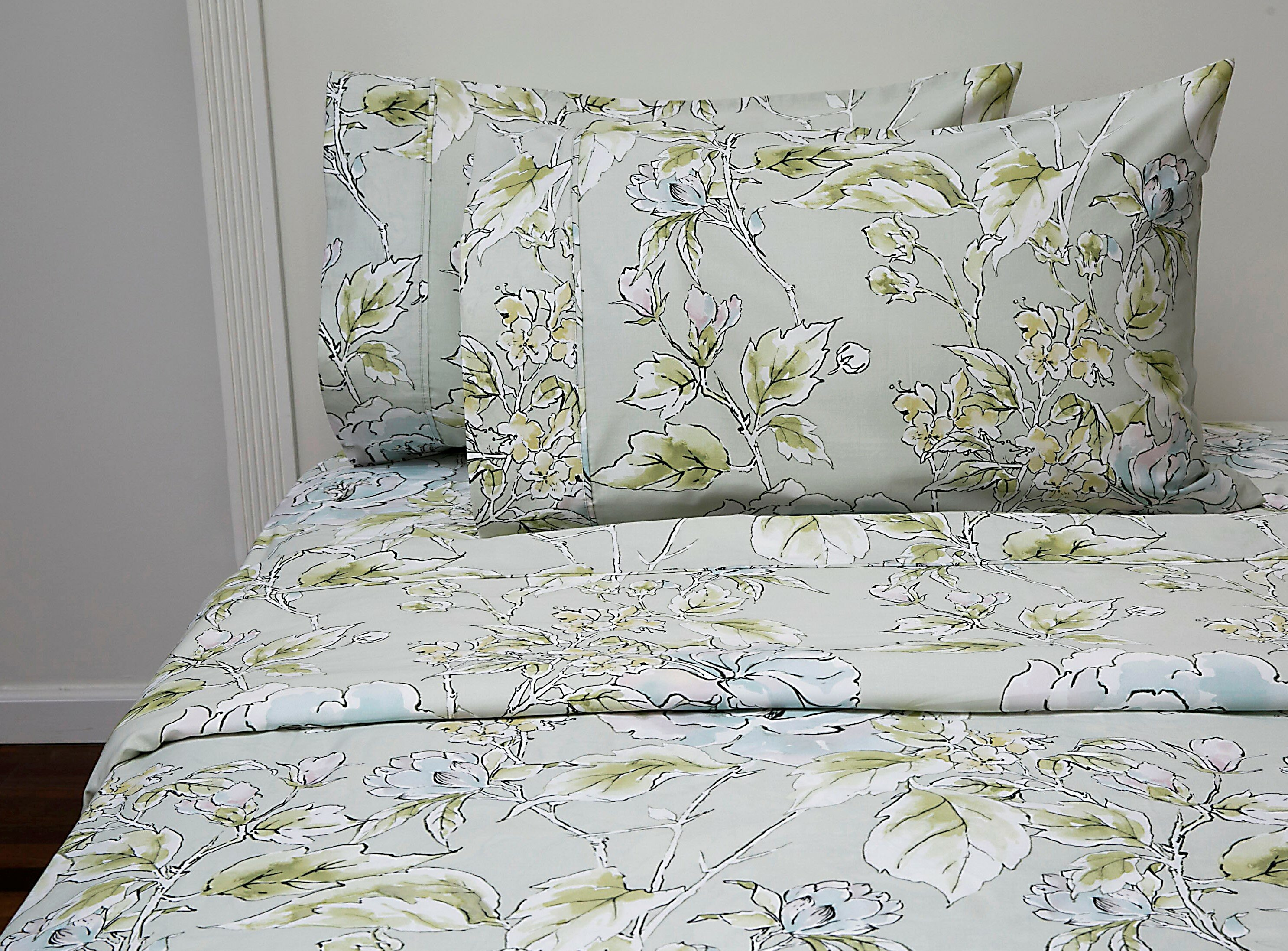 Canora Grey Sunglow 400 Thread Count 100 Cotton Sheet Set Wayfair