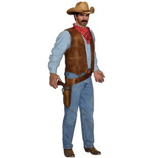 Western Jointed Cowboy Standup By The Beistle Company