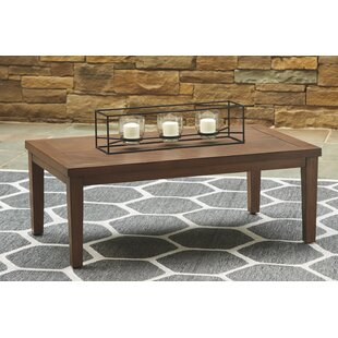 Geri Wicker Coffee Table