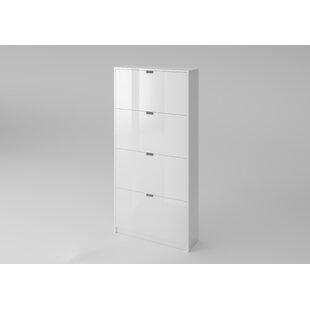 24 Pair Shoe Storage Cabinet By Ebern Designs