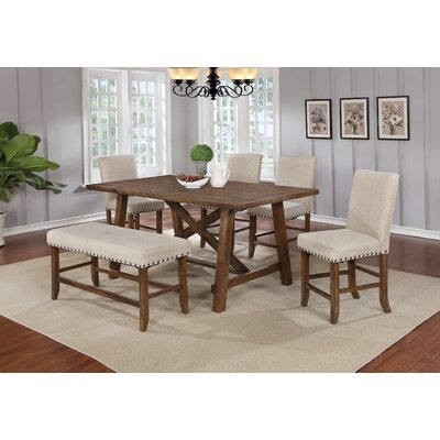 6 Piece Dining Set BestMasterFurniture
