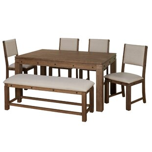 Westendorf 6 Piece Dining Set by Gracie O..
