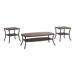 Laverne Modern 3 Piece Coffee Table Set Winston Porter