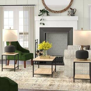 Ermont 3 Piece Coffee Table Set