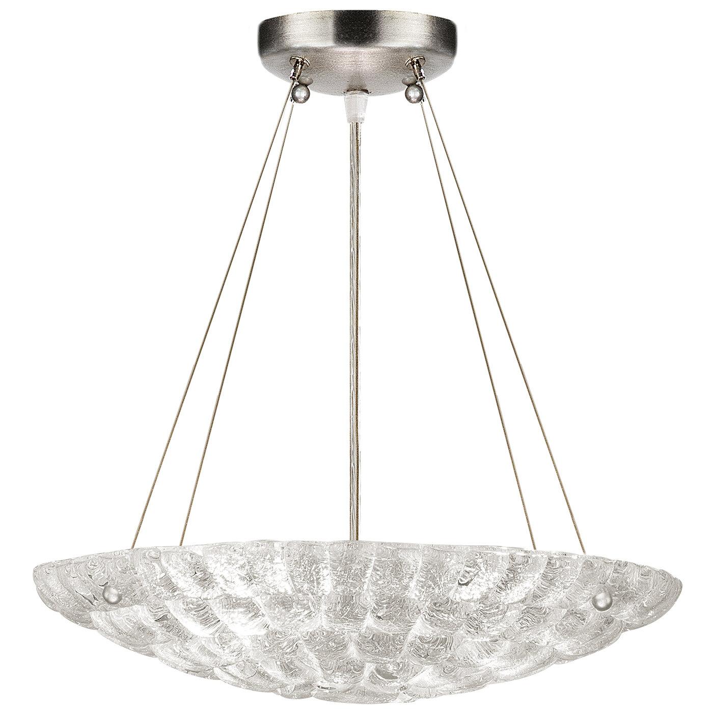 Fine Art Lamps Constructivism 3 Light Unique Statement Bowl Pendant Perigold