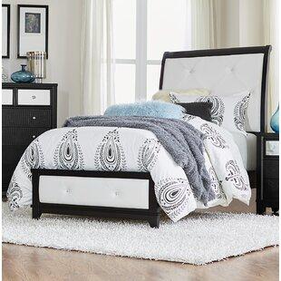 Upholstered Panel Bed by Homelegance