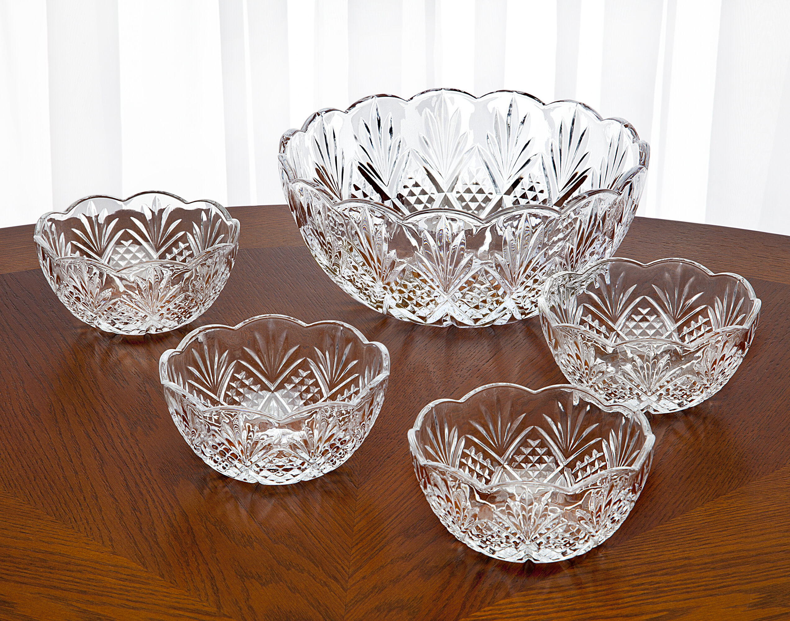 Godinger Silver Art Co Dublin 5 Piece Serving Bowl Set Reviews Wayfair