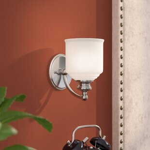 Best Deals Genevieve 1-Light Wall Sconce By Charlton Home