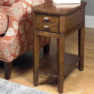 Weybossett End Table by Alcott Hill
