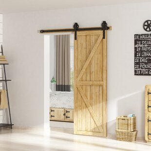 Modern Farmhouse Barn Door Hardware You Ll Love In 2021 Wayfair