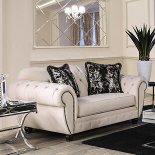 Best Price Napoleon Loveseat by Rosdorf Park Reviews (2019) & Buyer's Guide