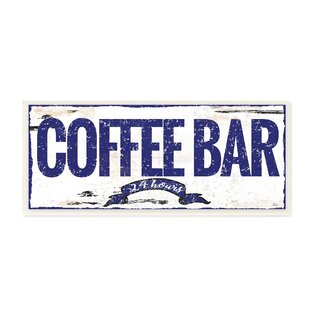 Proudly Made in USA Stupell Home D/écor The Old Rise and Shine Coffee Roasting Company Vintage Sign Oversized Stretched Canvas Wall Art 24 x 1.5 x 30