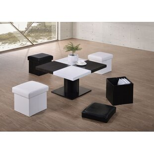 Afton Space Saving Modern Coffee Table Set by Brayden Studio