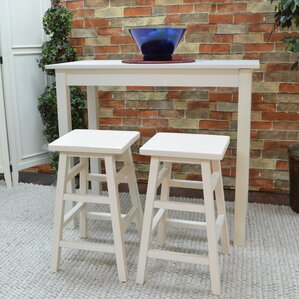 Waquoit 3 Piece Pub Table Set by Beachcrest Home