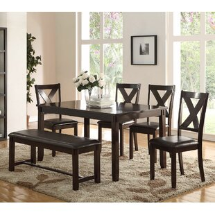 6 Piece Dining Set by Infini Furnishings Wonderful