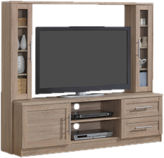 TV Stands with Hutch