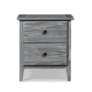 Greenport 2 Drawer Nightstand ByGrain Wood Furniture