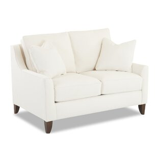 Buy clear Haleigh Loveseat by Wayfair Custom Upholstery™ Reviews (2019) & Buyer's Guide