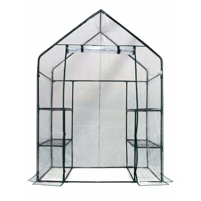2.42 Ft. W x 4.67 Ft. D Greenhouse Happy Planter