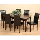 Etelvina 7 Piece Solid Wood Dining Set by Red Barrel Studio®