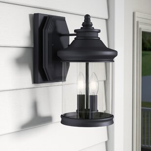 Justine 2-Light Outdoor Wall Lantern