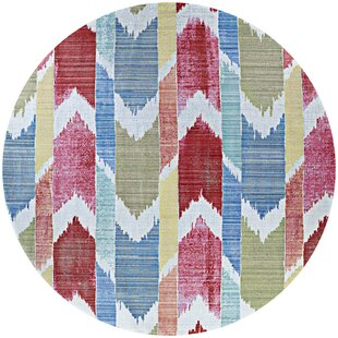 Beyer Red/Blue Indoor/Outdoor Area Rug